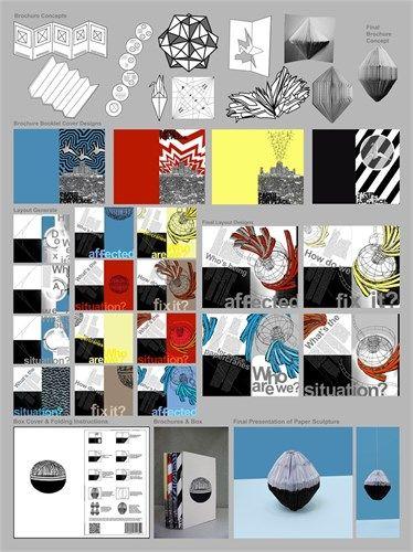 CEA level three Design - folio board two