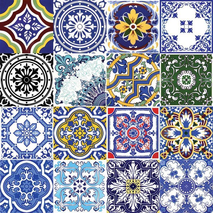 As 25 melhores ideias de adesivo para moveis no pinterest papel parede quarto casal blog de - Azulejos portugueses comprar ...