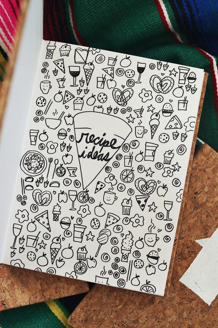 Get organized with idea journals for every category in your life! DIY (click though for DIY details!)