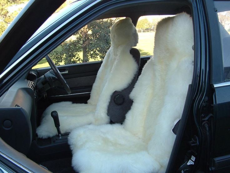 Car Seat Cover; Keep you warm in the winter and cool in the summer, help protect leather seats in hot conditions and ride in complete comfort.  (http://www.classicsheepskins.com/sheepskin-car-seat-cover/)