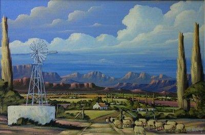 Farm With Windmill - At Botha