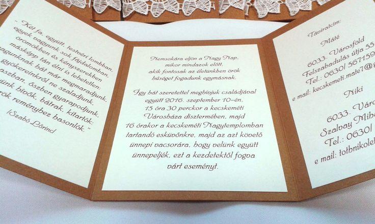 csipkés esküvői meghívó 08.03