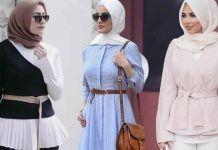 Couleur de hijab tendance 2017 : 20 photos de couleurs hijab fashion à piquer
