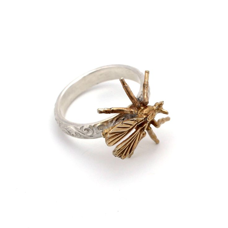 Wasp Ring by Kate McCoy www.katemccoy.com