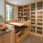Asian Style Pantry Design Ideas, Pictures, Remodel and Decor