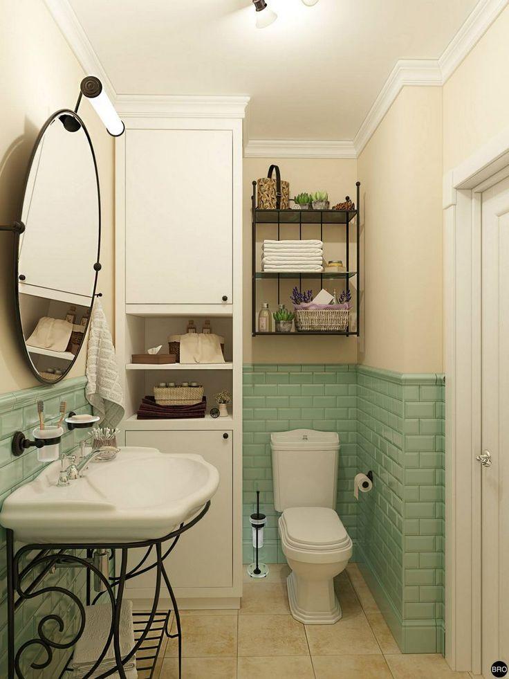 Kis lakás provence-i stílusban, külön hálószoba nélkül, kényelmes konyhával - Lakberendezés trendMagazin
