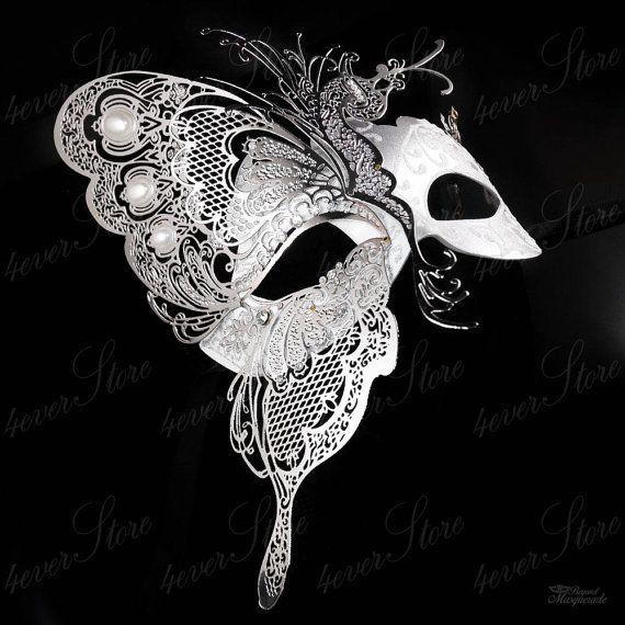 Mascarada máscara máscara de la mariposa elegante por 4everstore
