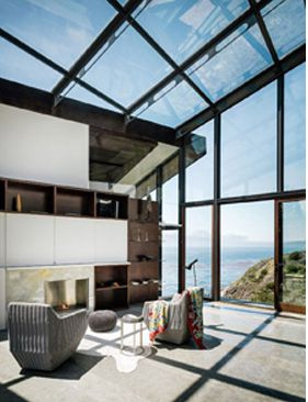 Fall House Big Sur California Fougeron Architecture Via Contract Magazine