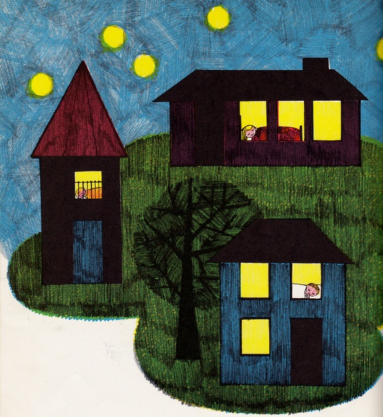 A House for Everyone by Betty Miles, illustrated by Jo Lowrey, 1962.