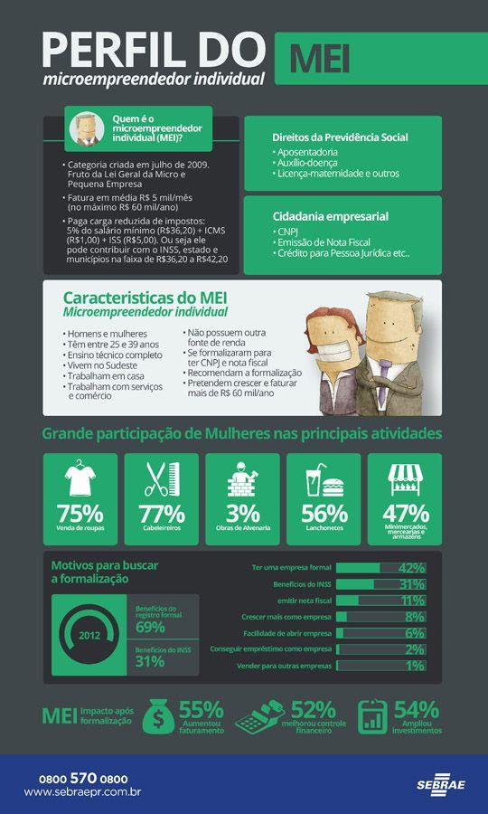 Perfil do MEI - Micro Empreendedor Individual