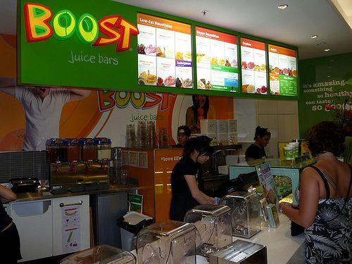 Good Food Store Smoothie Menu