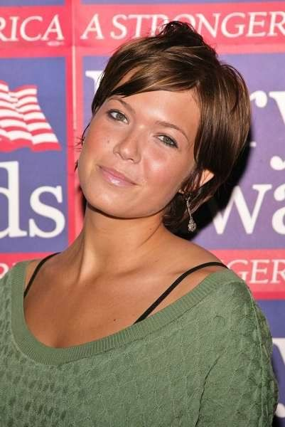 mandy moor short hair with bangs | Pictures of Short Hairstyles -Choose your favorite short hair ...