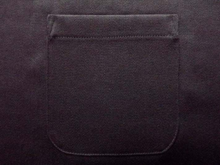 Detailed instructions on how to sew a patch pocket. Accompanied with beautiful step by step images.