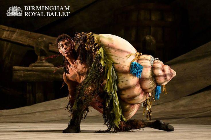 Tyrone Singleton as Caliban, Prospero's slave