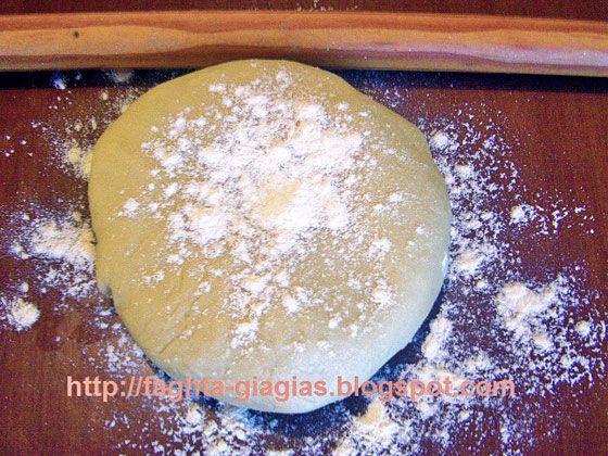 Φύλλο χωριάτικο για πίτες - βασική συνταγή ⇒ από «Τα φαγητά της γιαγιάς»