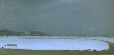 Courses de novembre à Blue Bonnets (1962) - Jean Paul Lemieux
