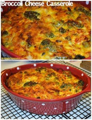 My Favorite Broccoli Cheese Casserole