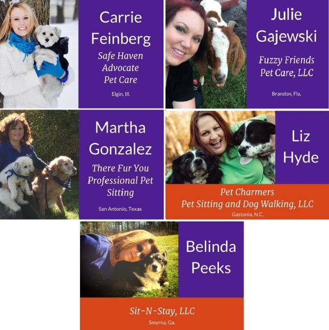 Pet Sitters International (PSI) has selected its top-five finalists for the 2016 Pet Sitter of the Year Award. First awarded by PSI in 1995, the Pet Sitter of the Year designation is the industry's highest honor and recognizes excellence in the professional pet-sitting field.