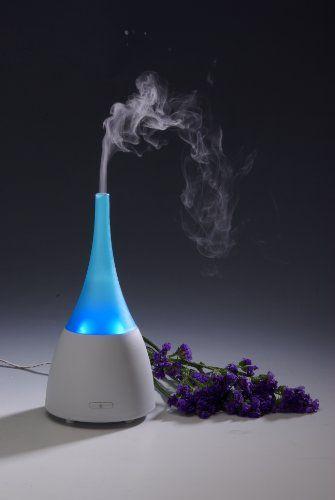 ZAQ Allay LiteMist Aromatherapy Essential Oil Diffuser (Blue)