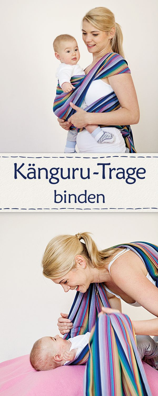 How to: Kängurutrage binden.