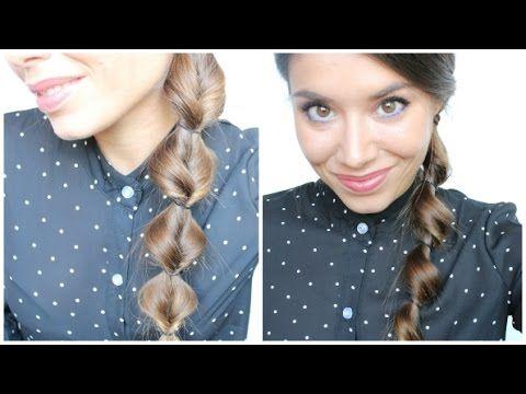 2 Acconciature Facili e Veloci per la scuola ❤️ Spink Makeup & Hair - YouTube