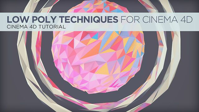 Low Poly Techniques for Cinema 4D by Nick Campbell. In this tutorial, I go over a few different techniques in Cinema 4D to get that low-poly style that has been popping up around the web lately.