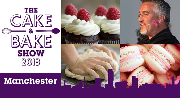 Put down the rolling pin, dust the flour off your hands & take a trip to The Cake & Bake Show at Manchester Central. See top TV baking stars like Paul Hollywood, Simon Rimmer, Eric Lanlard PLUS former Great British Bake Off contestants