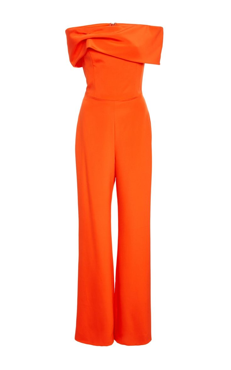 Strapless Jumpsuit by Christian Siriano