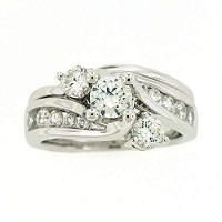 Best 25 Interlocking Wedding Rings Ideas Only On Pinterest