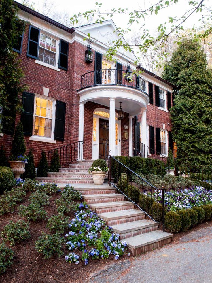 This Brick Georgian Revival Home Has Great Curb Appeal