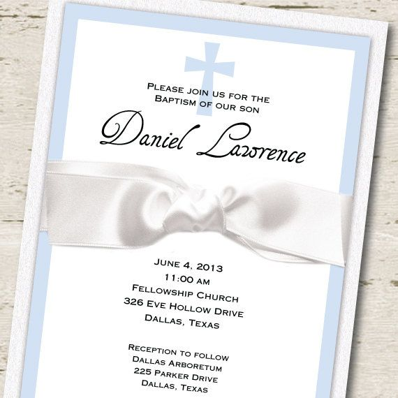 21 best Boy Baptism Ideas images on Pinterest Baptism ideas, Boy - sample baptismal invitation for twins