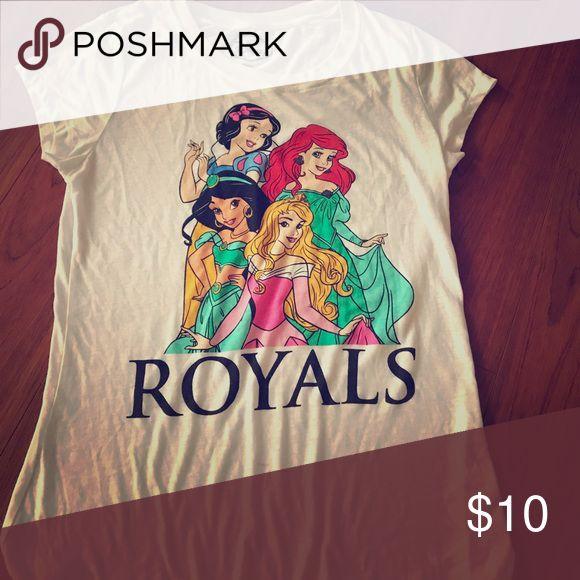 New Disney princess shirt Never worn xl thin loose fitting Disney Tops