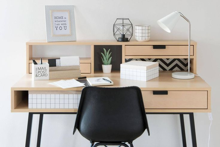 How to create a stylish yet motivating study room or home office