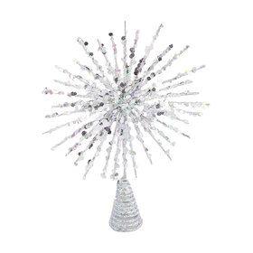19cm Glittered North Star Tree Topper