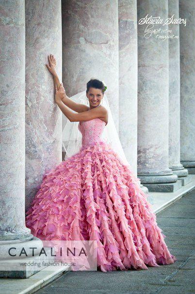 Пышные свадебные платья от CATALINA