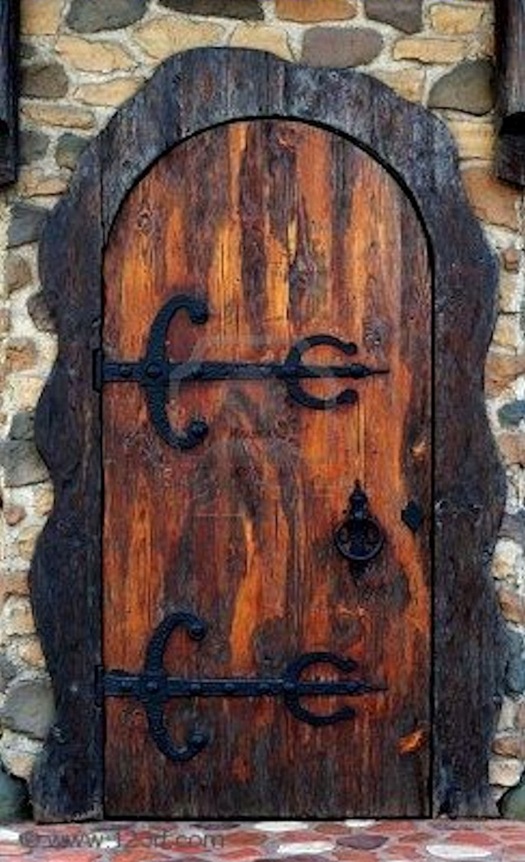 Old Pub Door