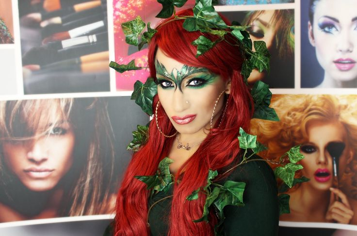 Halloween Special: Poison Ivy Make up Tutorial