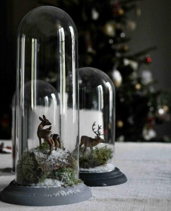 kerst stolp hert