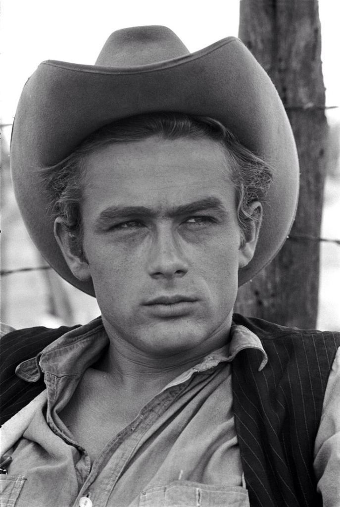 The original James Dean with his daydream-look-in-his-eyes.