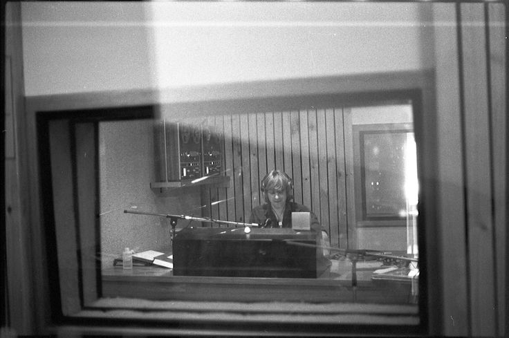 242. Wesley Want on Air in Studio A - October 1977