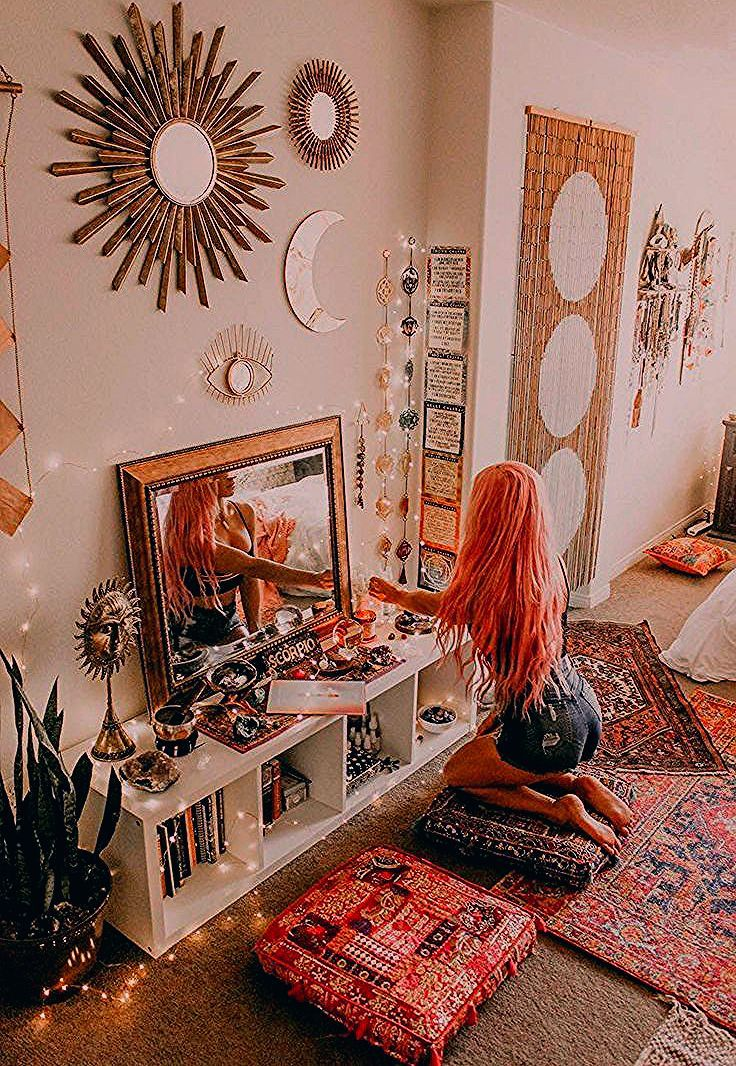 35 Schone Hippie Schlafzimmer Ideen Features In 2020 Plant