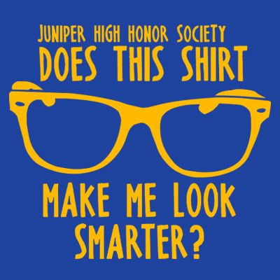 Would love this shirt for my National Honor Society...