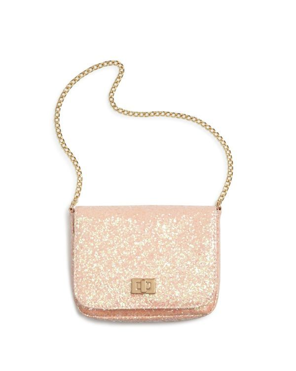 Capelli Chunky Glitter Shoulder Bag