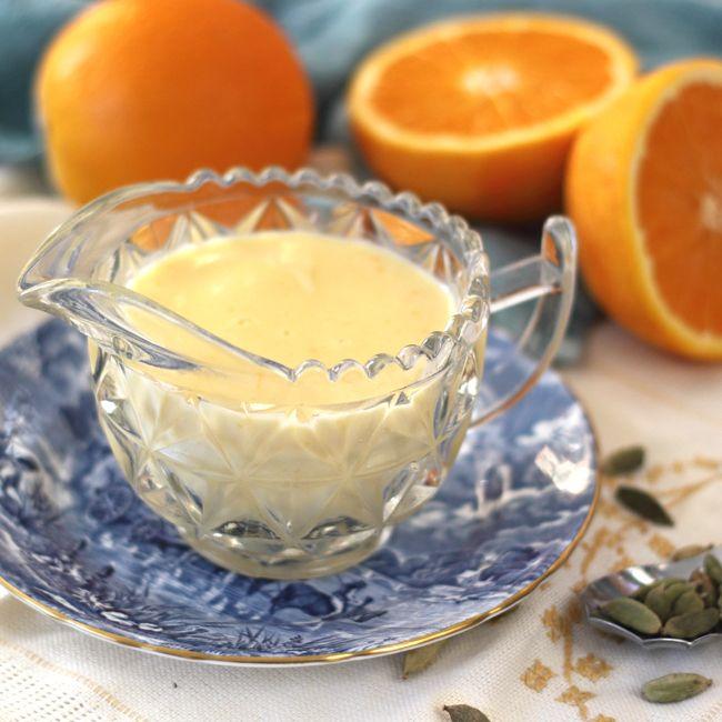 Orange & Cardamom Creme Anglaise