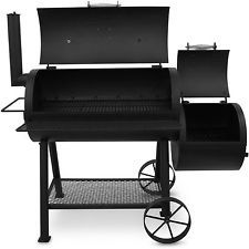 Oklahoma Joe Smoker Grill For Sale With Offset Meat Outdoor Highland 879 sq inch