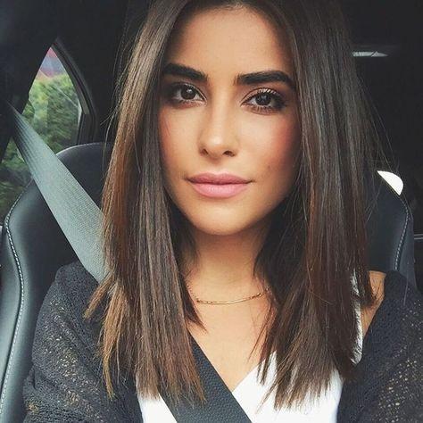 Best 25+ Medium straight hair ideas on Pinterest   Straight ...
