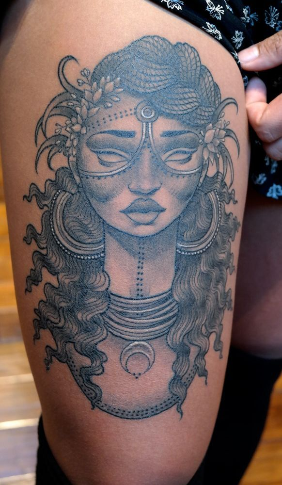 the 23 best african queen tattoo designs for women images on pinterest african queen tattoo. Black Bedroom Furniture Sets. Home Design Ideas