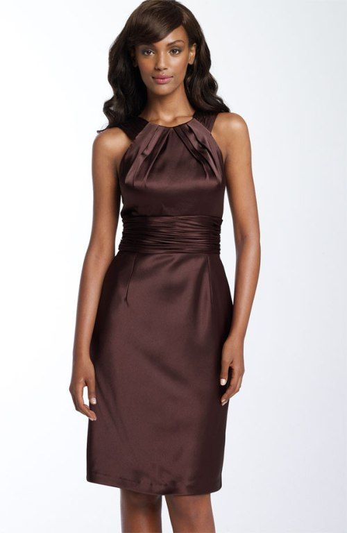 New Brown Bridesmaid dresses A Lovely Choice for a Wedding