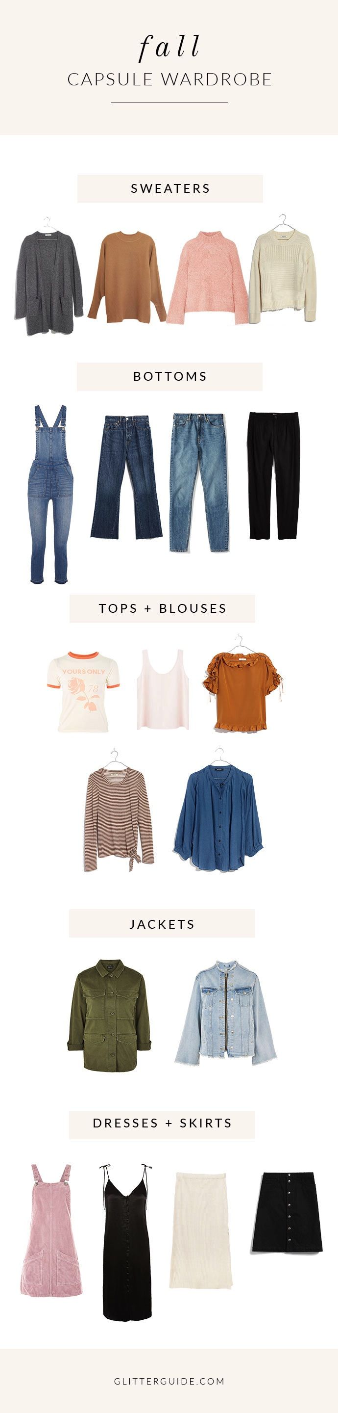 How To Build The Perfect Fall Capsule Wardrobe