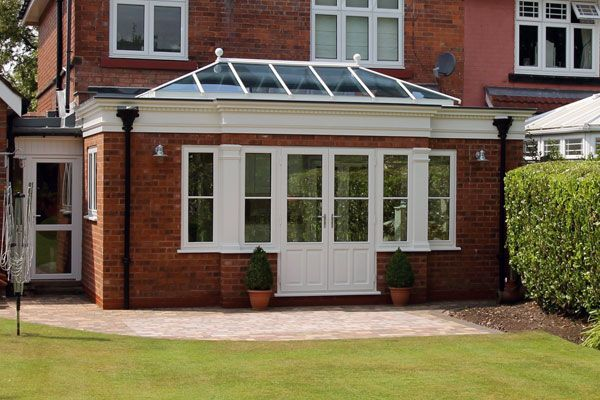 Brick Orangery And Roof Lantern In Sutton Coldfield